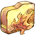 72x72px size png icon of Folder ele fire