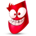 72x72px size png icon of Red