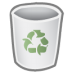 72x72px size png icon of bin empty