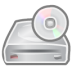 72x72px size png icon of cd driver