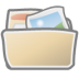 72x72px size png icon of folder photos