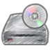 72x72px size png icon of scribble cd driver