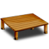 72x72px size png icon of Wood Desk