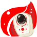 72x72px size png icon of Folder Red Music Device