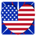72x72px size png icon of Independence Day 1 Heart