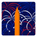 72x72px size png icon of Independence Day 4 Fireworks