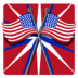 72x72px size png icon of Independence Day 6 Flags