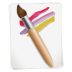 72x72px size png icon of Paintbrush