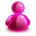 72x72px size png icon of online girl