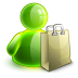 72x72px size png icon of shopping