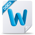 72x72px size png icon of docx mac