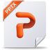 72x72px size png icon of pptx mac