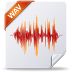 72x72px size png icon of wav