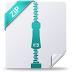 72x72px size png icon of zip
