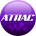 72x72px size png icon of ATRAC purple