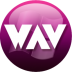 72x72px size png icon of WAV plum