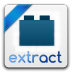 72x72px size png icon of extract