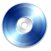 72x72px size png icon of Blue Ray Disc
