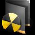72x72px size png icon of Burn Folder Black