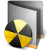 72x72px size png icon of Burn Folder