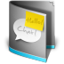 72x72px size png icon of Chat Folder