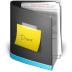 72x72px size png icon of Documents Folder Black