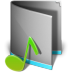 72x72px size png icon of Music Folder Alt
