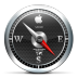 72x72px size png icon of Safari Black
