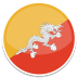 72x72px size png icon of Bhutan