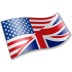 72x72px size png icon of English Language Flag 2