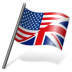 72x72px size png icon of English Language Flag 3