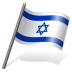 72x72px size png icon of Israel Flag 3