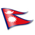 72x72px size png icon of Nepal Flag 2