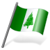 72x72px size png icon of Norfolk Island Flag 3