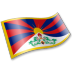72x72px size png icon of Tibetan People Flag 2