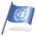 72x72px size png icon of United Nations Flag 3