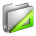 72x72px size png icon of Applications Metal Folder