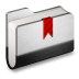 72x72px size png icon of Bookmark Metal Folder
