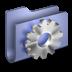 72x72px size png icon of Developer Blue Folder