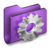 72x72px size png icon of Developer Purple Folder