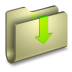 72x72px size png icon of Downloads Folder