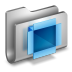 72x72px size png icon of DropBox Metal Folder