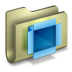 72x72px size png icon of Dropbox Folder