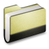 72x72px size png icon of Library Folder