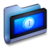 72x72px size png icon of Movies Blue Folder