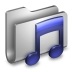 72x72px size png icon of Music Metal Folder