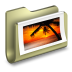 72x72px size png icon of Photos Folder