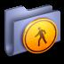 72x72px size png icon of Public Blue Folder