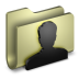 72x72px size png icon of User Folder