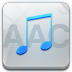 72x72px size png icon of aac